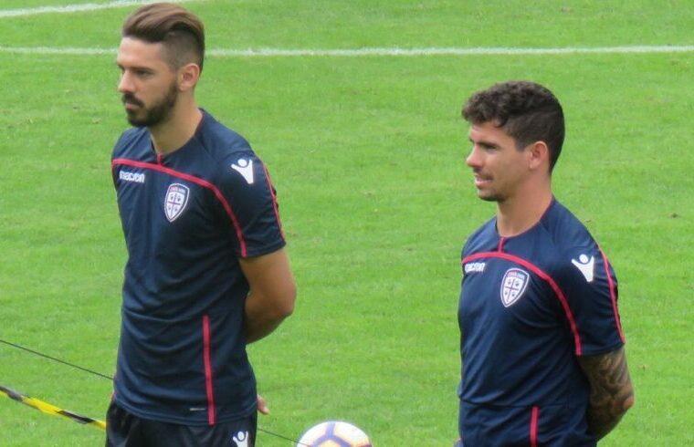 Pajac e Farias durante il ritiro di Pejo dello scorso anno