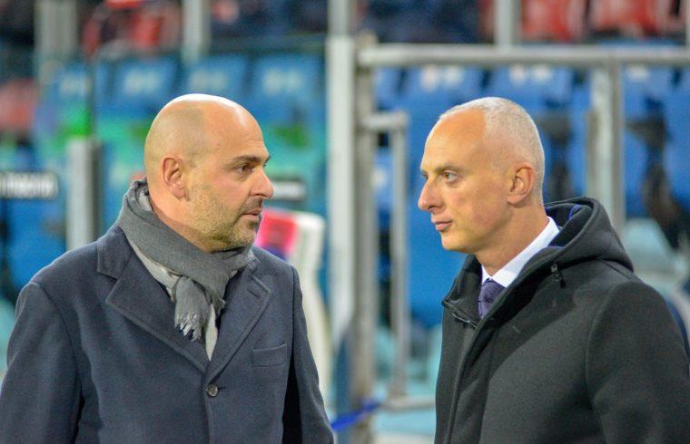 Tommaso Giulini e il direttore generale Mario Passetti