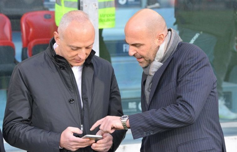 Giulini e Passetti (Foto di Gianluca Zuddas/Fotocronache.it)