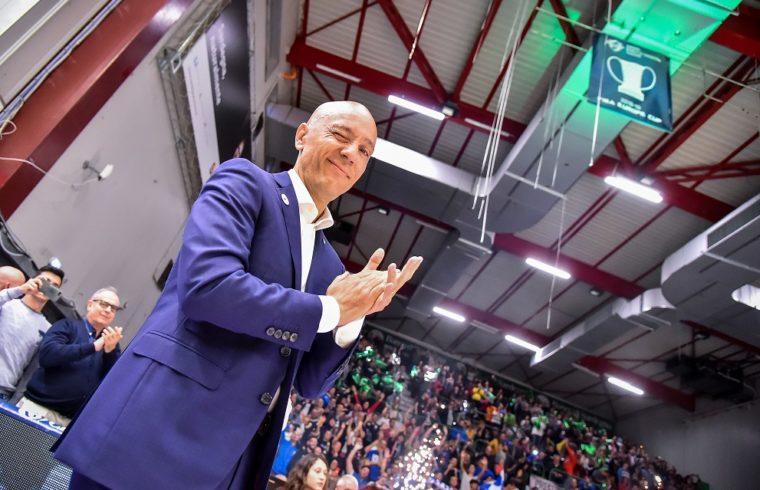 Stefano Sardara, presidente del Banco di Sardegna Dinamo Sassari | Foto Luigi Canu