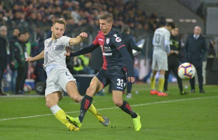 Kiril Despodov alla Sardegna Arena in Cagliari-Inter del 18/19 (Foto Gianluca Zuddas/Fotocronache.it)