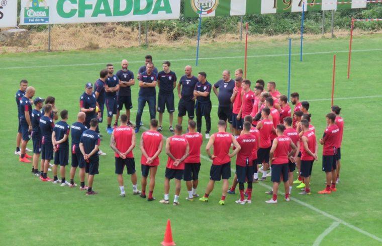 Il primo giorno di ritiro ad Aritzo della passata stagione - Foto www.centotrentuno.com