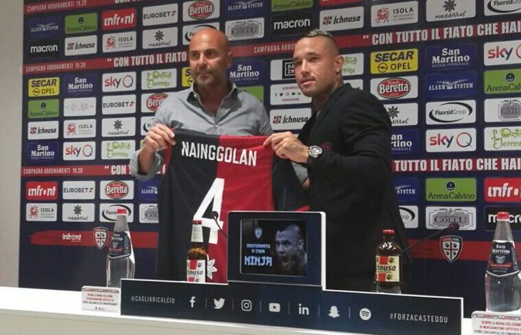 Tommaso Giulini e Radja Nainggolan