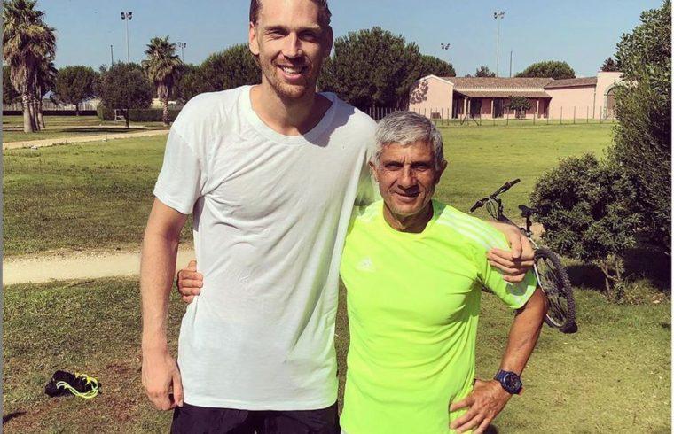 Gianfranco Ibba con Bartosz Salamon
