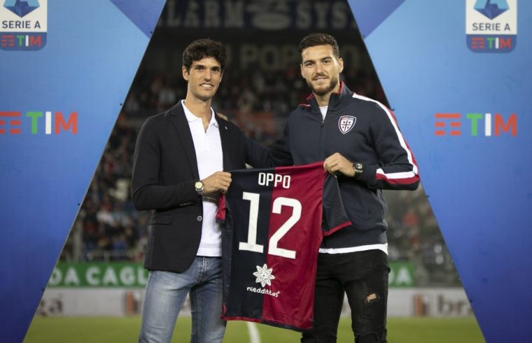 Stefano Oppo con Luca Ceppitelli