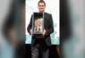 Nicola Riva ritira il premio dedicato a suo padre dalla città di Alghero