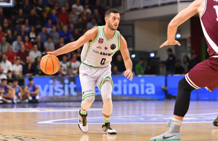 Marco Spissu in BCL | Banco di Sardegna Dinamo Sassari - Lietkabelis Panevezys FIBA Basketball Champions League 2019-2020 Sassari, 16/10/2019 Foto L.Canu / Ciamillo-Castoria