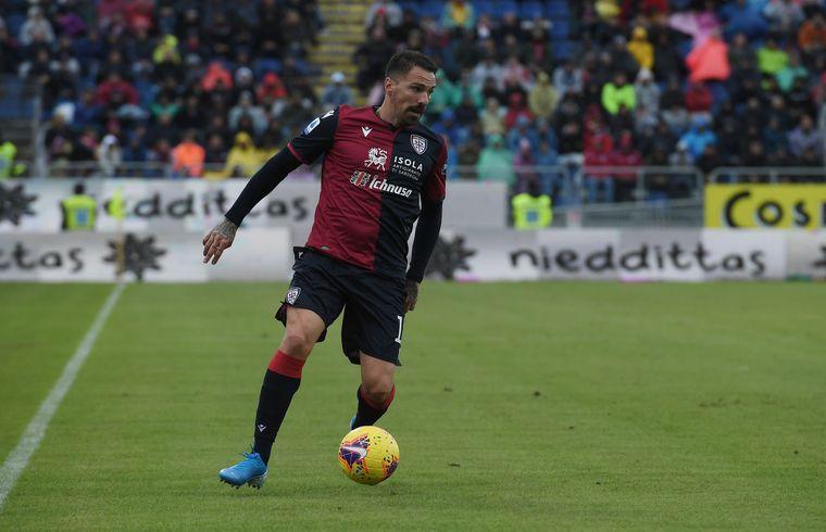 Fabrizio Cacciatore in azione - Foto Emanuele Perrone