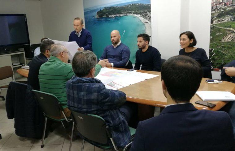 La riunione della commissione Urbanistica