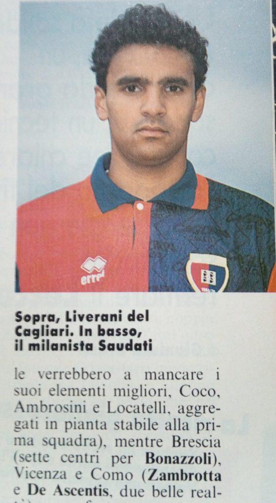 Fabio Liverani in una foto del 1996