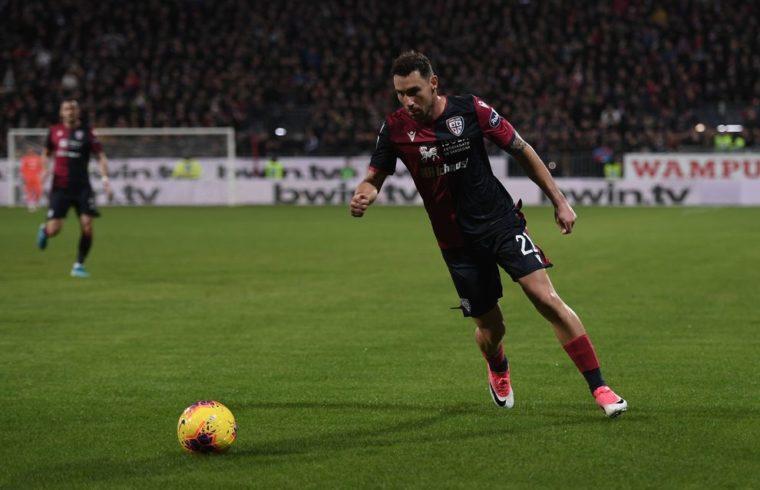 Artur Ionita in maglia Cagliari