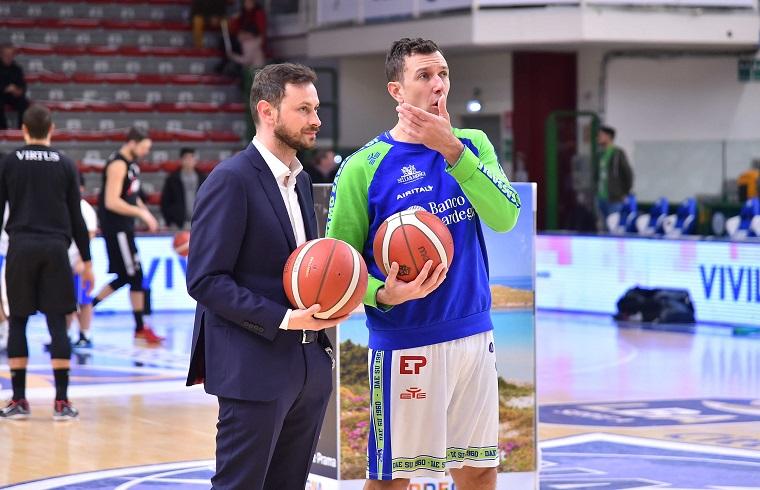 Jack Devecchi, qui con l'asssitant coach Gerosa