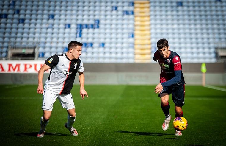 Alessandro Lombardi contro la Juventus | Foto Andrea Baldinu