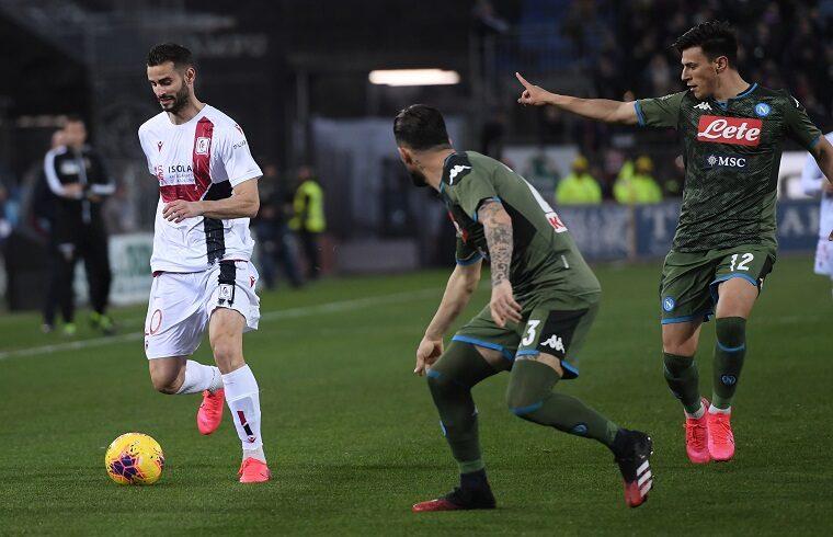 Gaston Pereiro contro il Napoli nella passata stagione