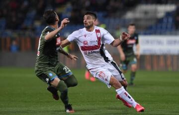 Giovanni Simeone in azione