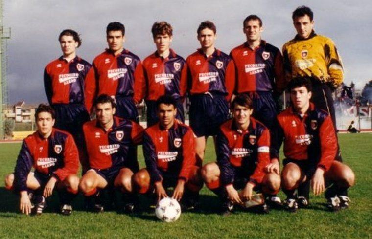 Una formazione del Cagliari Primavera 1995-96