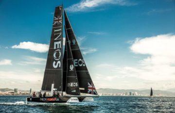 La barca del Team INEOS