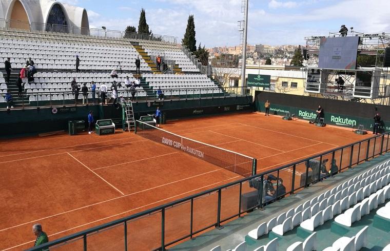 Tutto pronto per la Coppa Davis a Cagliari