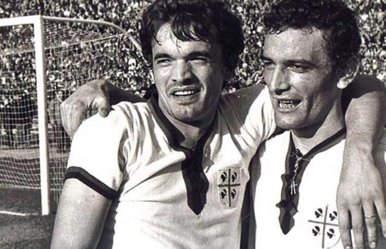"""Sergio """"Bobo"""" Gori e Gigi Riva"""