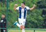 Favio Cabral con la maglia del Talleres