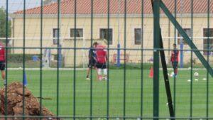 Cagliari in campo ad Asseminello
