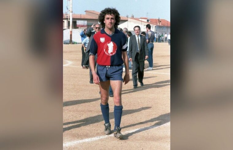 Walter Tolu in maglia Torres