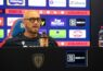 Walter Zenga in conferenza stampa (foto Mastrangelo /Cagliari Calcio)
