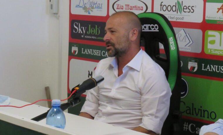 Alfonso Greco, nuovo allenatore del Lanusei