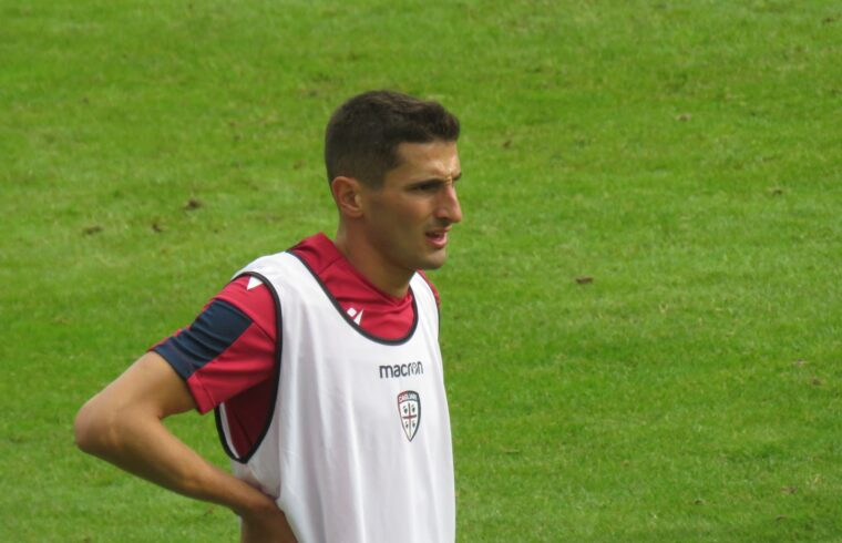 Federico Mattiello durante lo scorso ritiro a Pejo