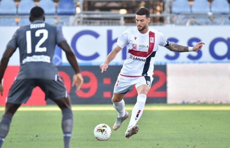 Luca Ceppitelli in Cagliari-Udinese | Foto Luigi Canu