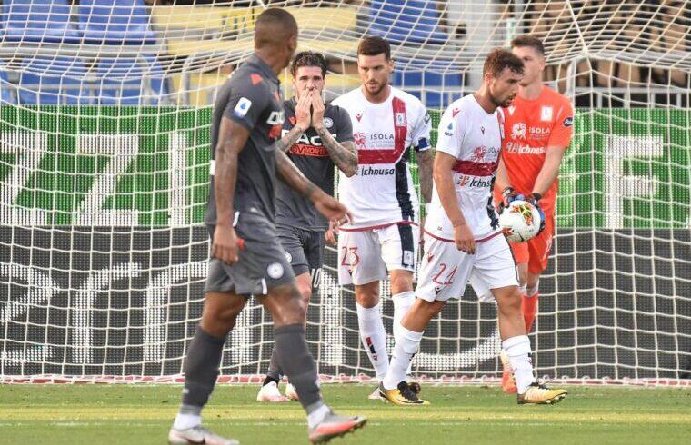 Cagliari-Udinese La disperazione di De Paul dopo un occasione fallita | Foto Luigi Canu