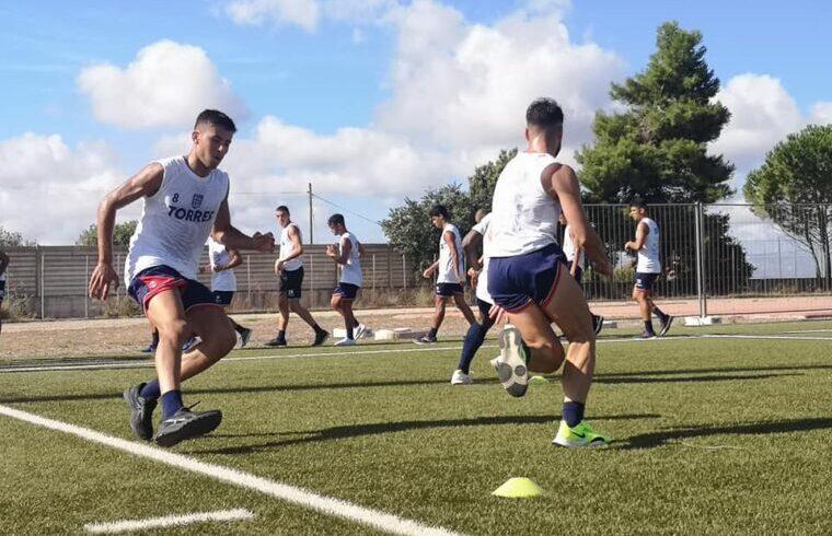 Primi allenamenti a Ossi per la Torres | Foto Torres Calcio