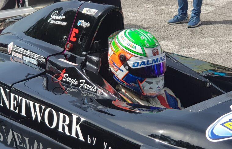 Sergio Farris alla partenza di una gara