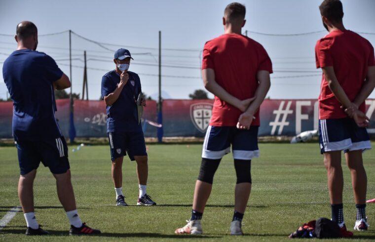 Cagliari in allenamento [foto Cagliari Calcio]