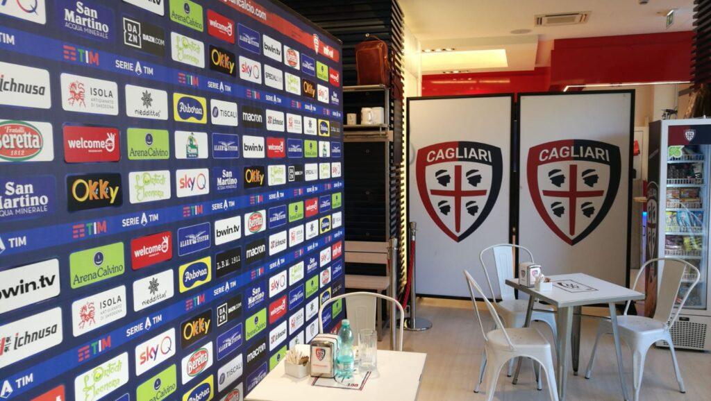 Cagliari Store blindato in vista del cambio dello sponsor tecnico