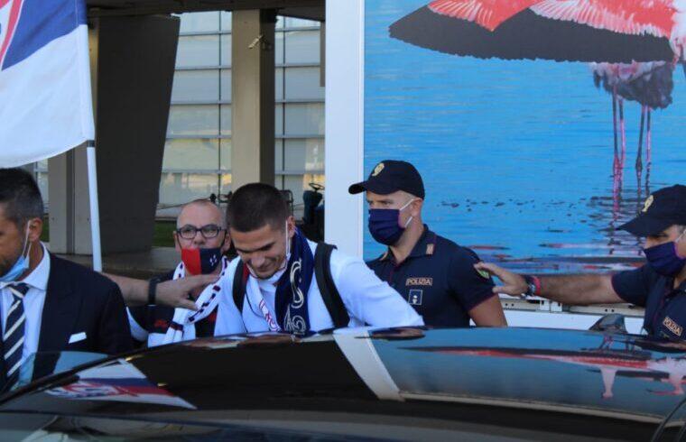 Razvan Marin all arrivo di Elmas