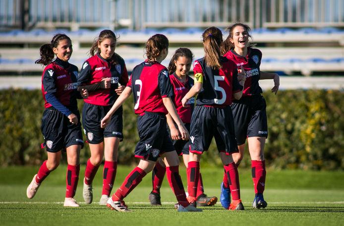 L'Under 15 femminile del Cagliari | Foto Cagliari Calcio