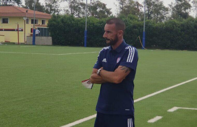 Alessandro Agostini allenatore dei giovani del Cagliari Primavera