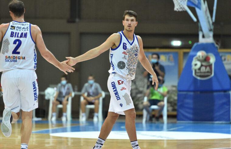 Filip Kruslin e Miro Bilan, i due croati della Dinamo Sassari | Foto Luigi Canu