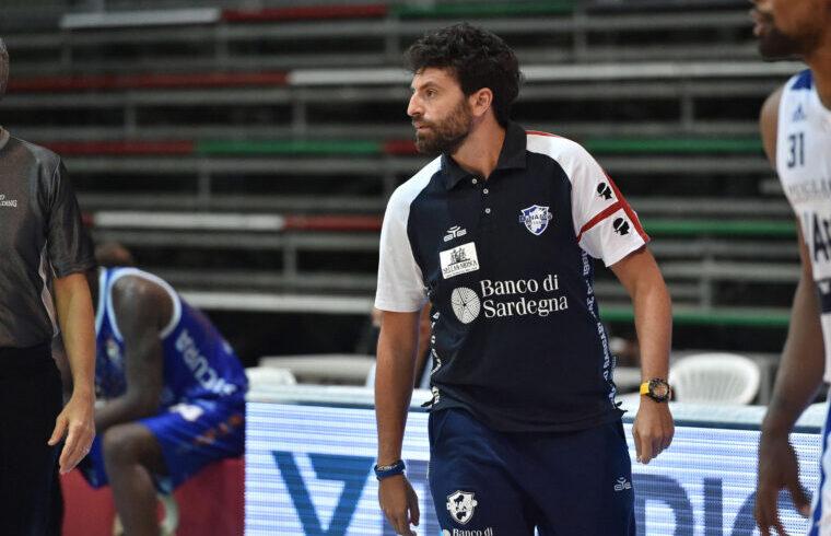 Edoardo Casalone, assistant coach della Dinamo Sassari | Foto Luigi Canu