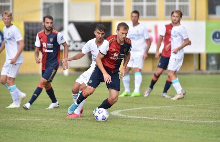 Ragnar Klavan in Cagliari Olbia | Foto Sandro Giordano