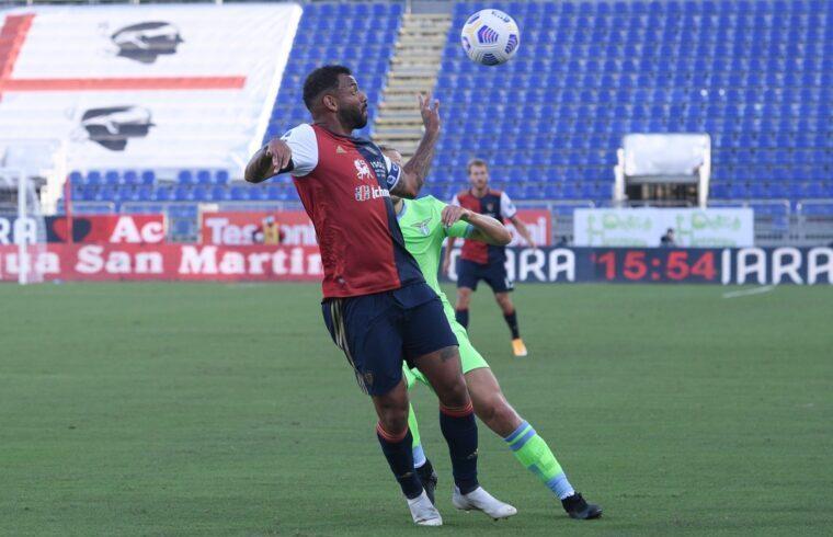 Joao Pedro in Cagliari-Lazio | Emanuele Perrone