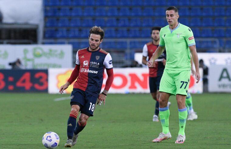 Nahitan Nandez contro la Lazio | Foto Emanuele Perrone