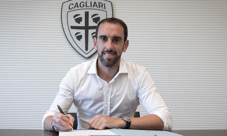 Diego Godin | Foto Cagliari Calcio