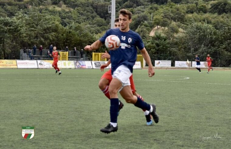 Berman del Carbonia | Foto Giorgio Melis - Lanusei Calcio