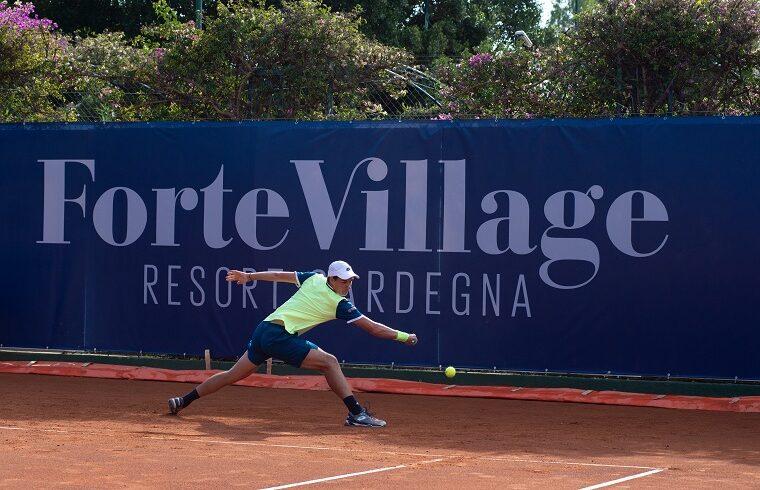 Kamil Majchrzak al Forte Village Sardegna Open 2020 | Foto Alessandro Tocco/LaPresse