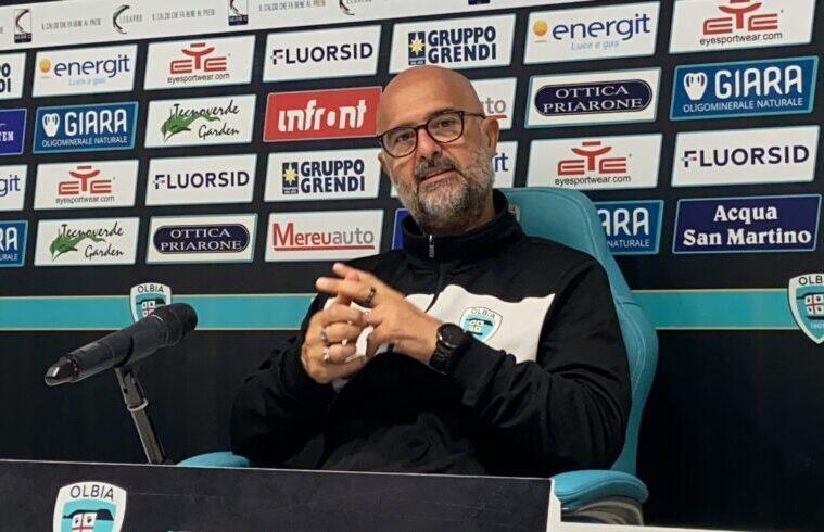 Max Canzi, allenatore Olbia