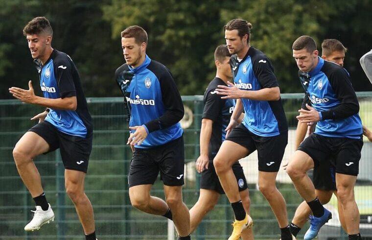 Atalantini in allenamento a Zingonia | Foto Atalanta Calcio