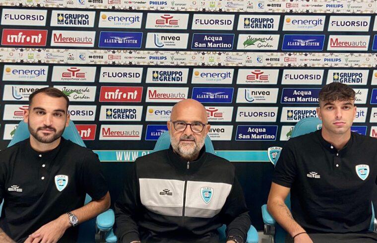 Riccardo Ladinetti e Mattia D Agostino alla presentazione insieme a Max Canzi