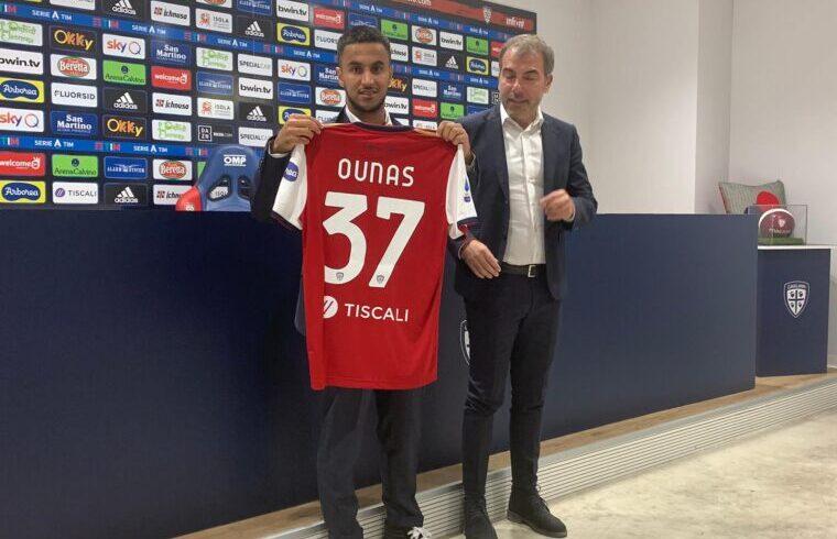 """Cagliari, Ounas: """"Qui per fare bene, mi ispiro a Ronaldo"""""""